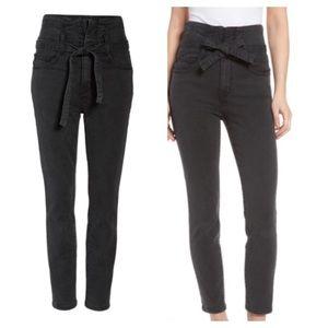 Current/Elliott Corset Stiletto High Waist Jeans